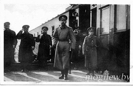 Первый приезд Государя в Ставку — Георгий Шавельский