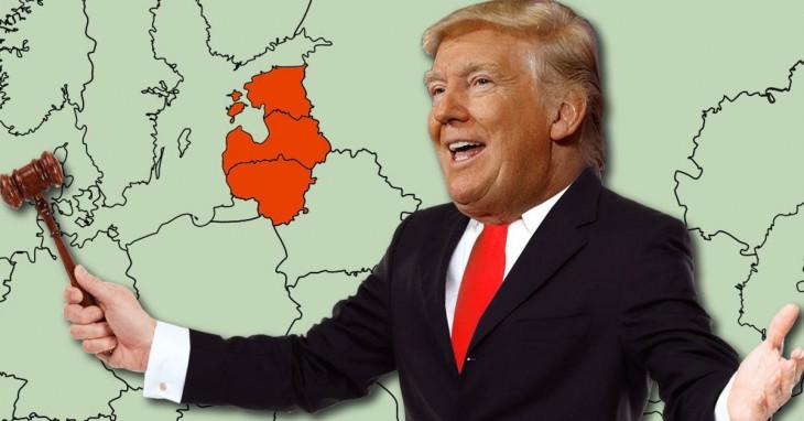 Дядя, купи Прибалтику: Трамп расширяет границы возможного в геополитике