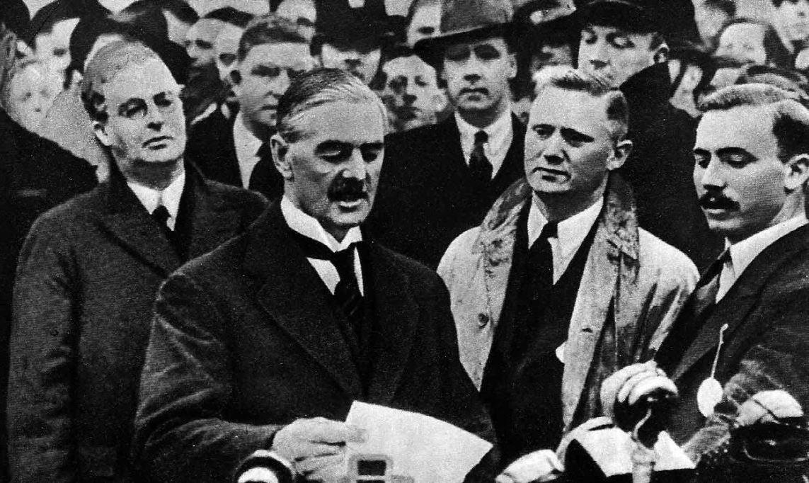 Мюнхенская сделка западных демократий с Гитлером