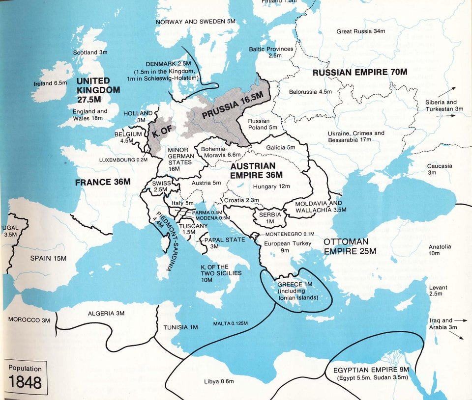 Европа в 1848 году, главные враги человечества и «древний айфон»