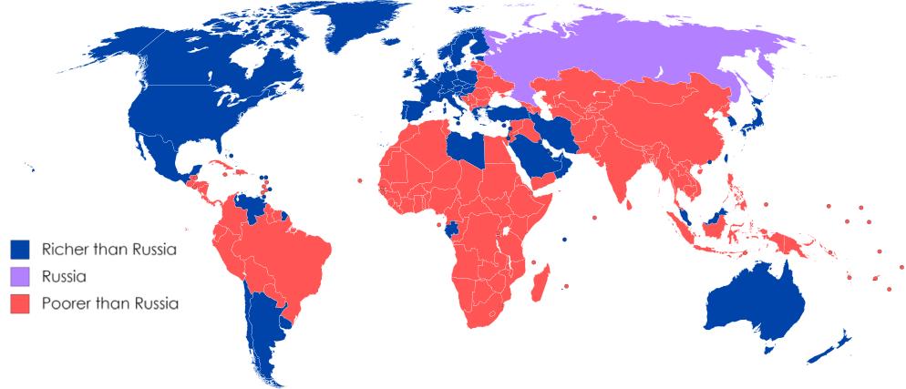 Россия беднее Венесуэлы, парадокс поздних браков и дача на финском острове