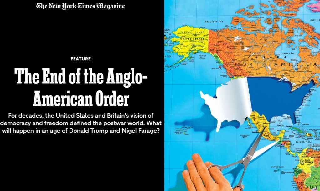 Этот неустойчивый американский миропорядок…