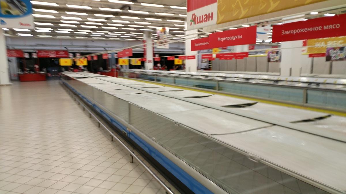 Закрытие гипермаркетов, рост торговли с Китаем и грузооборот портов