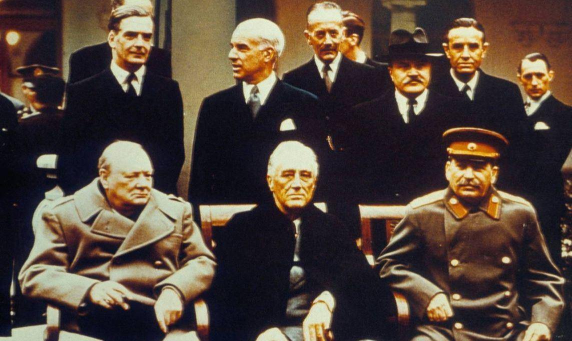 О чём Сталин, Рузвельт и Черчилль договорились в Ялте