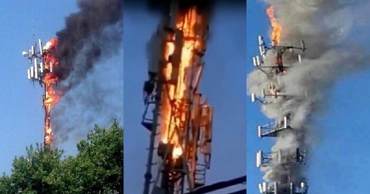 Сожжение сотовой вышки, масштабы тестирования и точный срок окончания эпидемии