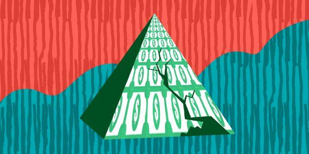 Как не пострадать от финансовой пирамиды